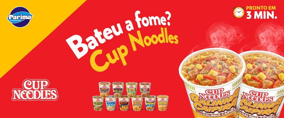 Cup Noodles - Parima Distribuidora - Site Institucional